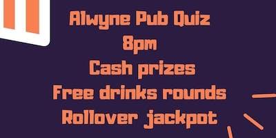 Quiz Night at The Alwyne