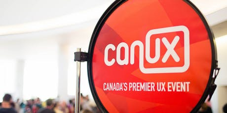 CanUX 2019 billets