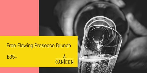 Freeflowing Prosecco Brunch