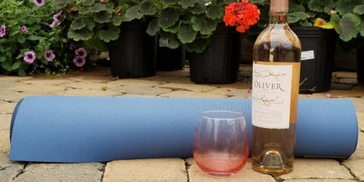 Yoga & Wine in the Garden