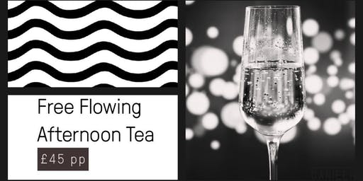Free flowing Afternoon Tea