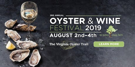 Oyster & Wine Festival 2019 On Sunny Slope Farm tickets