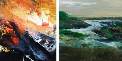 1 FULL Day: The Use of Line & Color in Abstract Painting w/ Art Cornell
