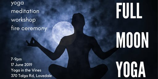 Full Moon Yoga Workshop