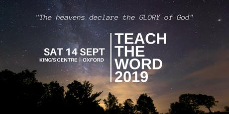 TEACH THE WORD 2019 tickets
