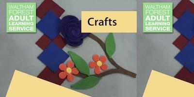 Free++Adult+Craft+Workshop+%40+Leytonstone+Libr