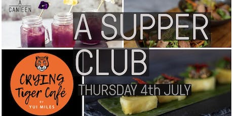 A SUPPER CLUB with YUI MILES Masterchef Semi Finalist 2019 tickets