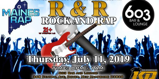 MAINES RAP R&R(Rock&Rap) Night In Dover New Hampshire