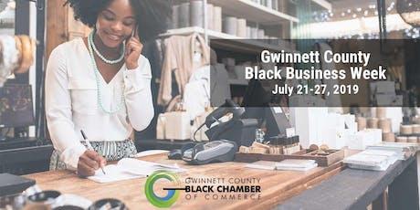 Gwinnett County Black Business Week 2019 tickets