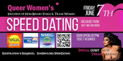 ***** Women's Speed Dating - Stonewall Pride Edition