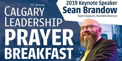 51st Annual Calgary Leadership Prayer Breakfast, Telus Convention Centre