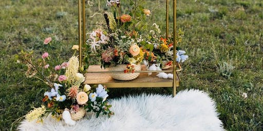 Farm to Table Woodland style Centerpiece Class