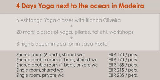4 Days Yoga and Accommodation