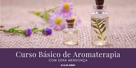Curso Básico de Aromaterapia ingressos