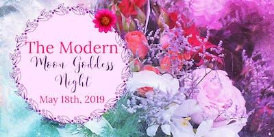 Modern Moon Goddess Night