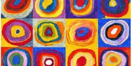 Paint Kandinsky + Wine! Farringdon, Thursday 25 July tickets