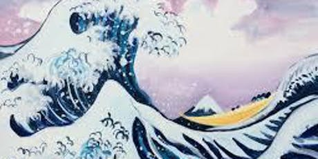 Paint the Great Wave + Wine! London Bridge, Friday 26 July tickets