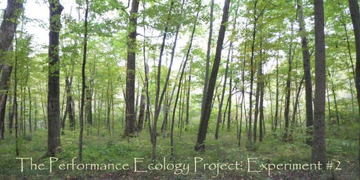 The Performance Ecology Project: Exploring the Deep World