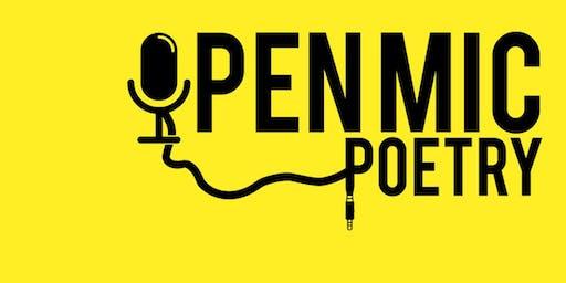 Open Mic Poetry