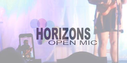 Open Mic Monday @ The Horizons