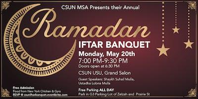 CSUN MSA Ramadan Iftar Banquet