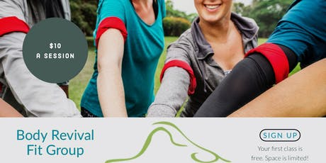 Body Revival Fitness Classes tickets