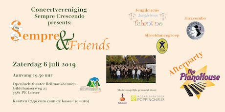 Sempre & Friends met Afterparty The Pianohouse tickets