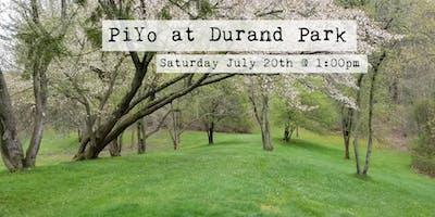 PiYo at Durand Park