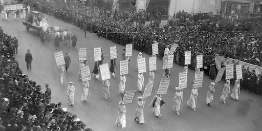 Akron History Hike: Suffrage March