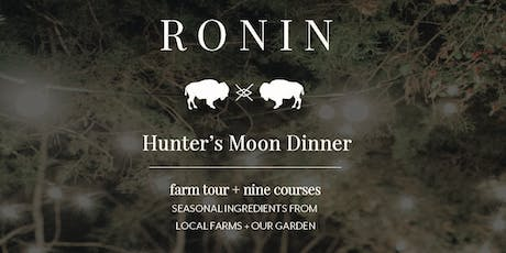 Hunter's Moon Dinner tickets