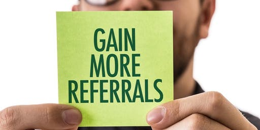 Follow up/Referrals-Presented by Walter Santiago (CSO/Founder) GenNEXT Funding