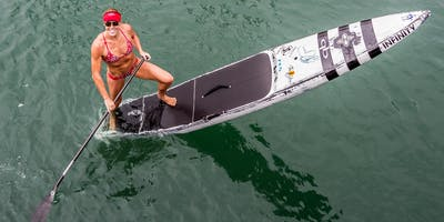 Candice Appleby Footwork & Drills Clinic Hosted by Pro SUP Shop
