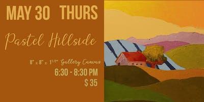 Pastel Hillside - Paint Party