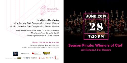 Vancouver Metropolitan Orchestra 2018/19 Season Finale Concert