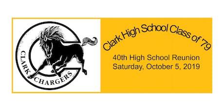 Ed W. Clark High School 40th Reunion tickets