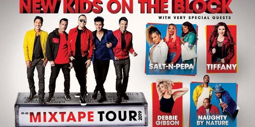 NKOTB Mixtape Concert Tour - Benefitting Sofia Sees Hope