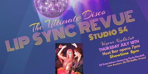 """Lip Sync Revue """"Studio 54"""""""