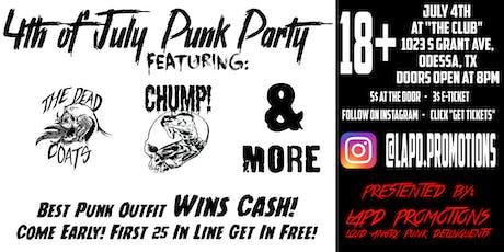LAPD Punk Party tickets