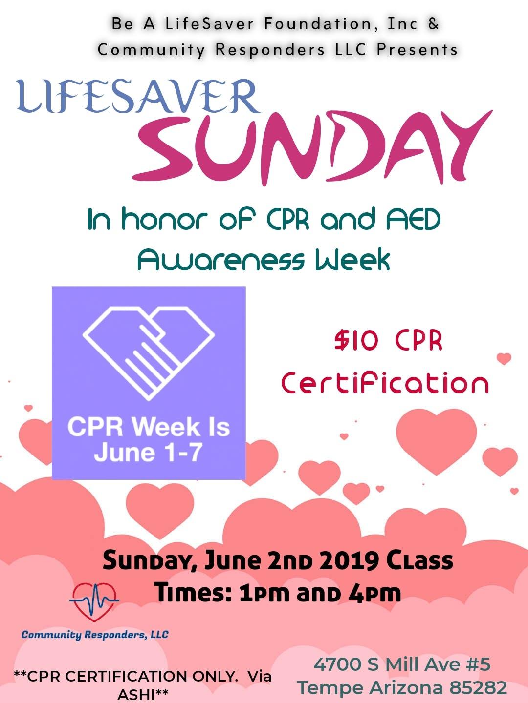 $10 CPR CERTIFICATION!!!!!!!
