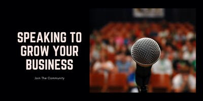 Speaking To Grow Your Business