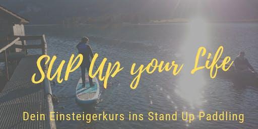 SUP up your Life: Dein Einsteigerkurs ins Stand Up Paddling