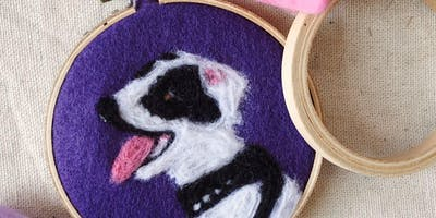 Makers Workshop: Felted Pet Portraits