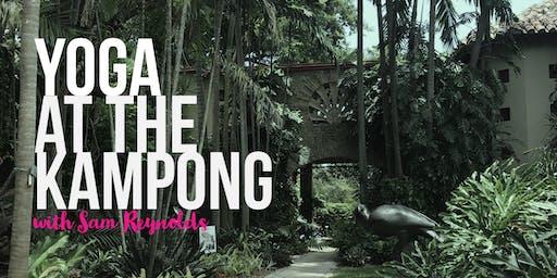 Yoga at the Kampong Gardens with Sam Reynolds