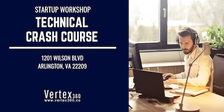 Startup Workshop - Technical Crash Course tickets