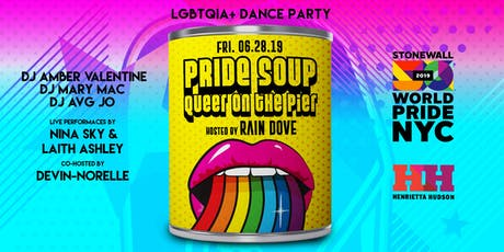 PRIDE SOUP! Queer on the Pier | WorldPride NYC 2019 tickets