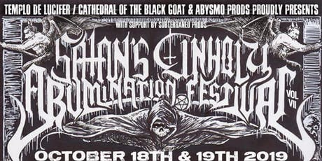 Satan's Unholy Abomination Fest V II Saturday ticket tickets