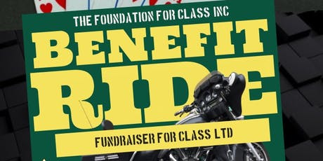 CLASS LTD Benefit Ride tickets