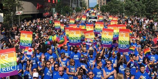 RBC's Entry for 2019 Victoria Pride Parade (EMPLOYEES ONLY)