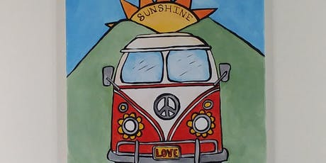 Sunshine Daydream - Chautauqua Paint Party  - Wythe Arts Council Fundraiser tickets