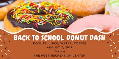 Back To School Donut Dash
